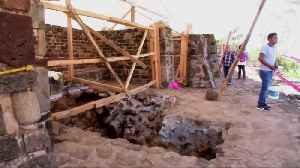 News video: Mexico earthquake reveals undiscovered pyramid