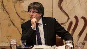 German Court Rules Puigdemont Can Be Extradited to Spain [Video]