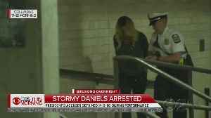 Stormy Daniels Arrested While Performing At Ohio Strip Club [Video]