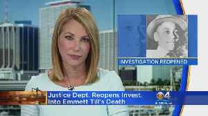 Federal Government Reopens Investigation Of Emmett Till's 1955 Lynching [Video]