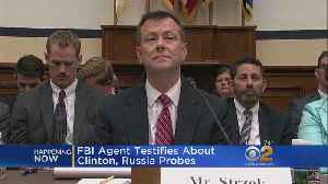 FBI Agent Testifies About Clinton, Russia Probes [Video]