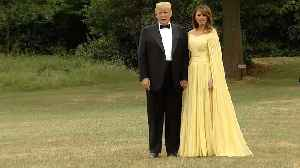 Trump heads to gala at Blenheim Palace [Video]