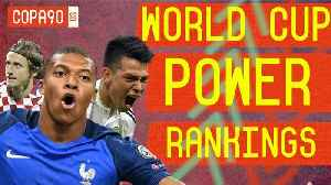 Top 10 Best Players of World Cup 2018 | COPA90 Power Rankings [Video]