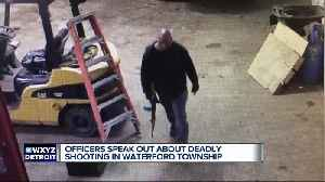 Officers speak out about deadly shooting in Waterford Township [Video]