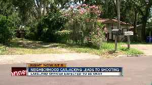 Armed carjacking suspect shot in officer-involved shooting in Lakeland [Video]