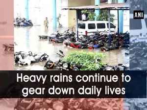Heavy rains continue to gear down daily lives [Video]