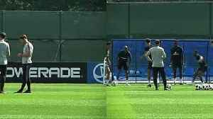 News video: England train for second World Cup encounter with Belgium