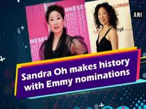 Sandra Oh makes history with Emmy nominations [Video]