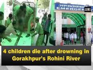 4 children die after drowning in Gorakhpur's Rohini River [Video]