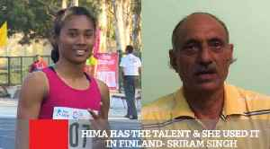 Hima Has The Talent & She Used It In Finland  Sriram Singh [Video]