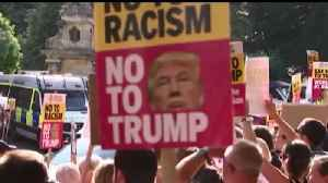 Widespread protests expected during Trump's U.K. visit [Video]