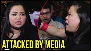 Bharti Singh Gets ANGRY When Mobbed By Media At Airport, Leaves For Argentina [Video]