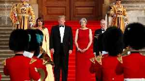 Trump, after questioning May's Brexit plan, arrives in 'hot spot' UK [Video]