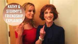 Why Kathy Griffin is BFFs with Stormy Daniels [Video]