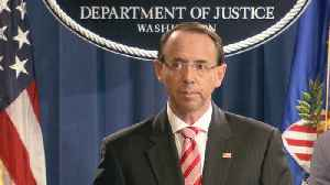 News video: Special Report: Rosenstein announces 12 Russian hacking indictments
