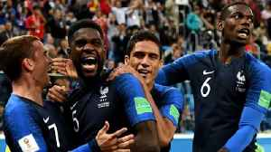News video: France and Croatia to face off in World Cup final