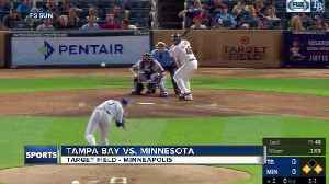 Kyle Gibson helps Minnesota Twins top Tampa Bay Rays 5-1 in rain-delayed series opener [Video]