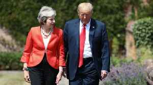 Donald Trump, Theresa May Hold Joint Press Conference At Chequers [Video]