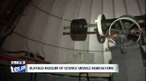 Buffalo Museum of Science Kellogg Observatory grand reopening [Video]