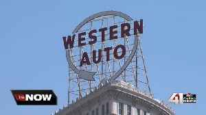 Western Auto sign to be turned on Friday night [Video]