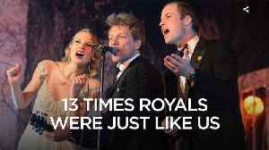13 Times Royals were normal like us [Video]