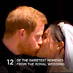 12 of the sweetest moments from the royal wedding [Video]