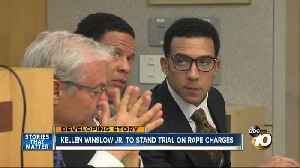 Kellen Winslow, Jr. to stand trial on rape charges [Video]