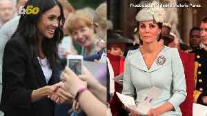 News video: Royal Ladies Solo Day Out! Meghan Markle And Kate Middleton Are Hitting Wimbledon