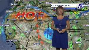 Hot, dry conditions persist for the next week [Video]