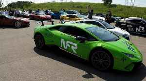 Mysterious philanthropist leads supercar rally through radar speed trap [Video]