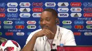 Wild, wild Will Smith goes global at World Cup [Video]