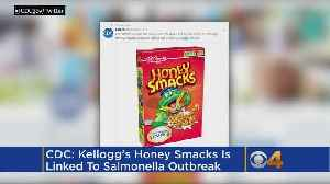 Salmonella Cases Linked To Recalled Honey Smacks Cereal Reach 100 [Video]