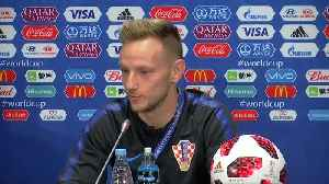 News video: Croatia will have excess energy for World Cup final, says Rakitic