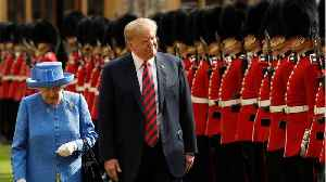 News video: The Queen Greets President Trump
