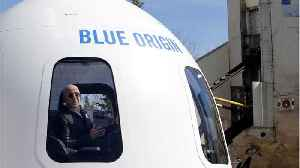 News video: Blue Origin Announces Date For Sale Of Spaceflights