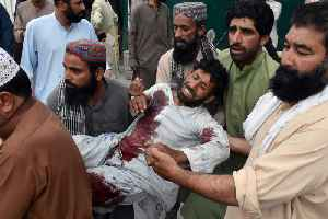 News video: Suicide Bomber Kills Over 100 People in Pakistan