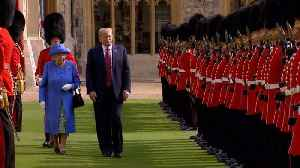 News video: The Queen And Donald Trump