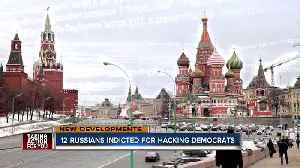 News video: 12 Russians indicted in Mueller probe for hacking Democrats in 2016 election