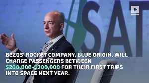 Jeff Bezos Will Charge at Least $200K for Space Rides [Video]