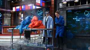 Kate The Chemist And Colbert Breathe Fire [Video]