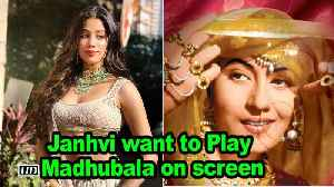 Janhvi want to Play Madhubala on screen [Video]