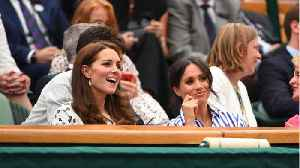 Meghan Markle & Kate Middleton Make First Solo Appearance Together [Video]