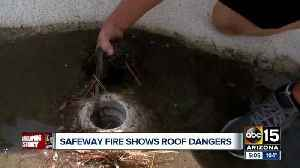 Concern over flat roofs following Safeway roof collapse [Video]