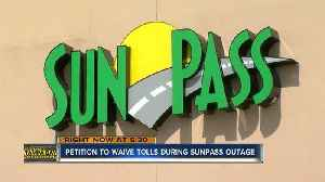 Florida man wants state to 'forgive' Sunpass transactions after outage, starts online petition [Video]