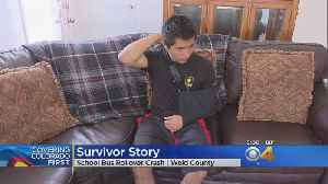 Bus Crash Survivor Recounts Scary Moments After Collision [Video]