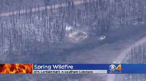 Spring Fire 91% Contained [Video]