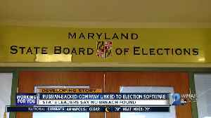 Link between Russian-backed company and MD State Board of Elections [Video]