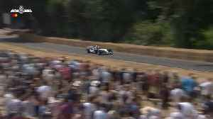 Juan-Pablo Montoya's mighty V10 Williams F1 screams at FOS [Video]
