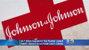 $4.7 Billion Awarded In Johnson & Johnson Lawsuit That Claimed Product Caused Ovarian Cancer [Video]