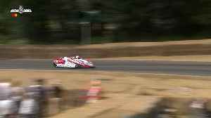 Crazy sidecar antics at FOS [Video]